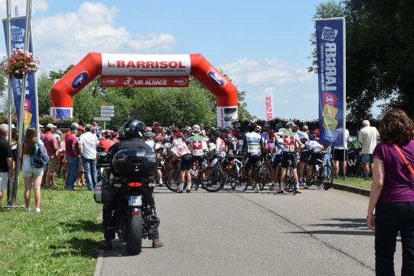 Tour Alsace - Départ de Ribeauvillé