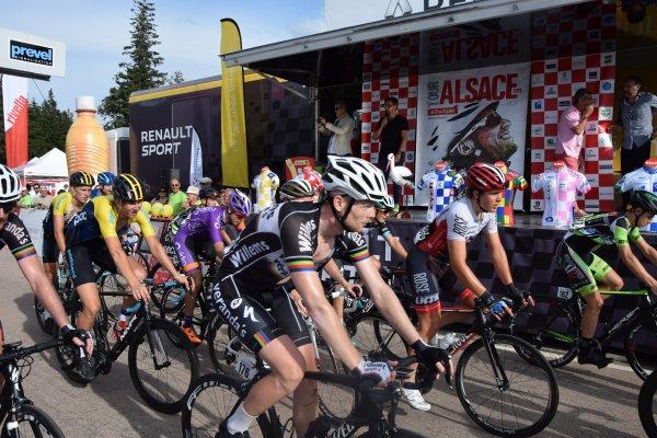 Tour Alsace - Arrivée au Lac Blanc