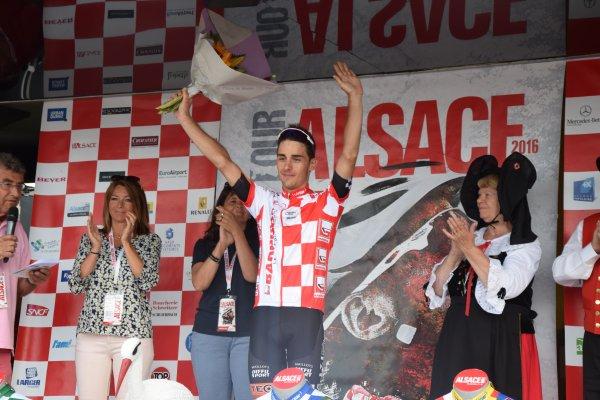 Tour Alsace 2016 - Podium au Lac Blanc