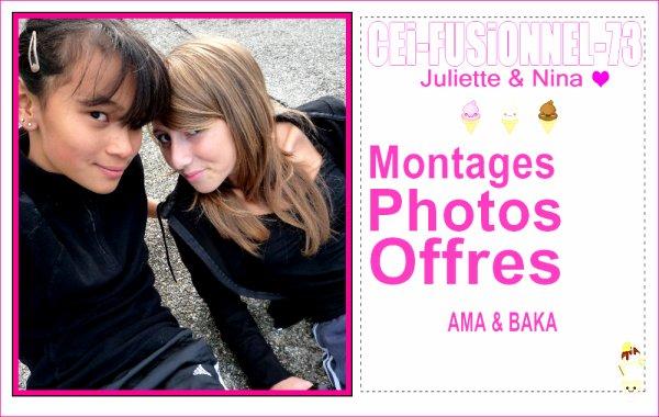 CEi FUSiONNEL entre Juliette et Nina :)