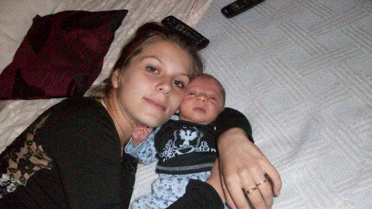 moi et bebe