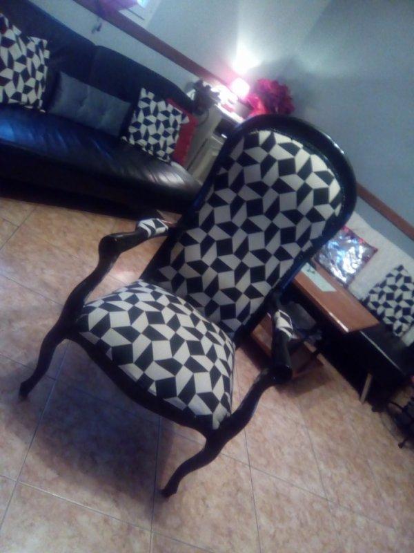 restauration du fauteuil voltaire