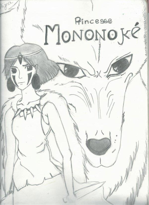 → Dessin: Princesse Mononoke