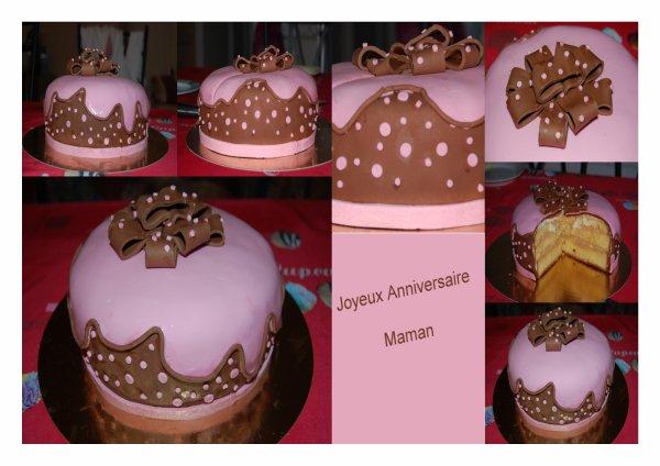 Pour l'anniversaire de ma maman :)