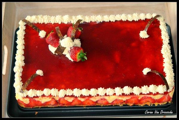 un grand fraisier :)