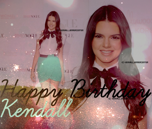 KENDALL A 15 ANS ! (: