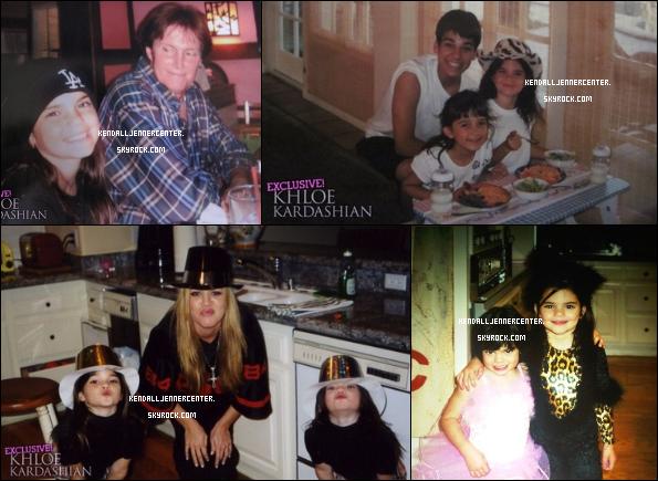 PHOTOS : Khloe a posté des photos de Kendall petite pour son anniversaire.  Et toi ? Tu la trouve comment ? J'adore, elle est trop chou !