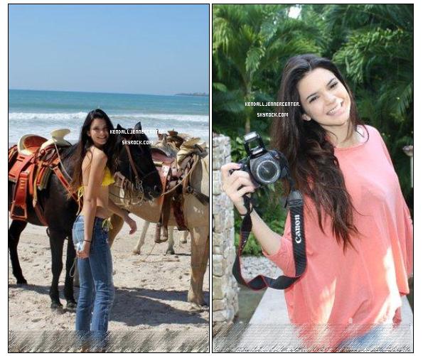 NEWS : Photos exclusives de Kendall a Mexico avec Kylie et ses parents. Photos de pas très bonne qualitée, désolée.  Et toi ? Tu la trouve comment ? La chance !