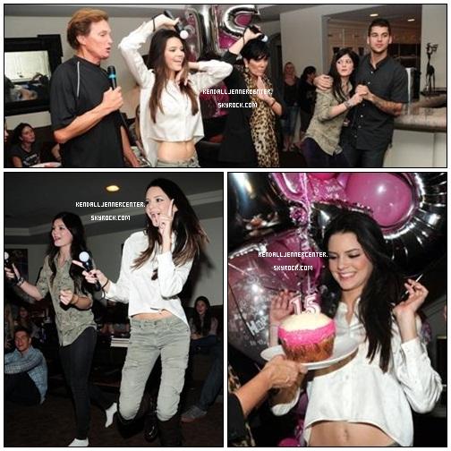 PHOTOS :  Nouvelles photos de Kendall, Kylie et sa famille pendant son anniversaire.  Et toi ? Tu la trouve comment ? Elle est tellement belle !