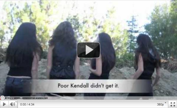 VIDEO :  Kendall et Kylie on posté une nouvelle vidéo d'elles et leurs amies sur leur compte Youtube puis le bétisier et les scenes coupées.  Qu'en penses-tu ?