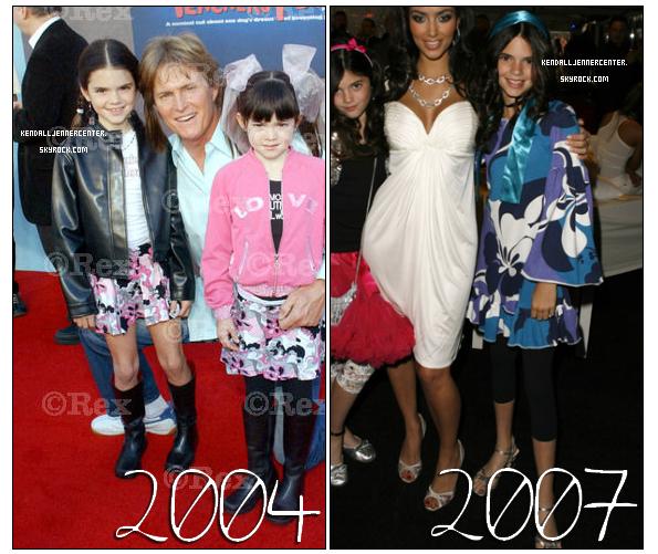 EVOLUTION DE KENDALL : N'est-elle pas trop chou quand elle etait petite ? Sinon que pensez-vous du changement radical en 2009 ?  Et toi ? Qu'en penses-tu ? Tu prefères Kendall en quelle année ?