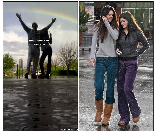 CANDID : 22.12.2010 :  Kendall, Kylie et Bruce sont partis au cinéma à Calabasas. + Une photo posté sur le twitter de Kendall.  Comment trouves-tu Kendall ? J'aime bien les Uggs. Ils sont partis voir Le monde de Narnia !