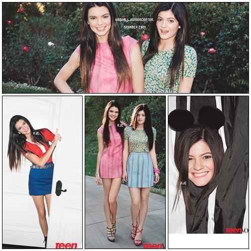 PHOTOSHOOT :  Voici quelques photos d'un photoshoot que Kendall et Kylie ont réalisées pour Teen Vogue.  Que penses-tu des photos ? J'adore ! Kendall et Kylie sont sublimes :O