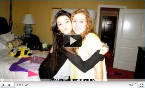 """VIDEO :  Voici une vidéo où Kendall et une de ses amies rappent.   Ton avis ? Aimes-tu la vidéo ? Trouves-tu que Kendall """"rappe"""" bien ?"""