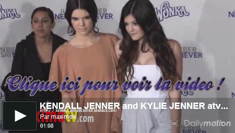 EVENTS : 08.02.2011. Kendall et Kylie étaient présentes à l'avant première du film Never Say Never de Justin Bieber.   Ton avis ? Comment trouves-tu Kendall ? Ton avis sur la tenue ? J'aime bien (: et toi ? Ton avis sur le make-up ? Kendall aurait-elle des problèmes de peau ?