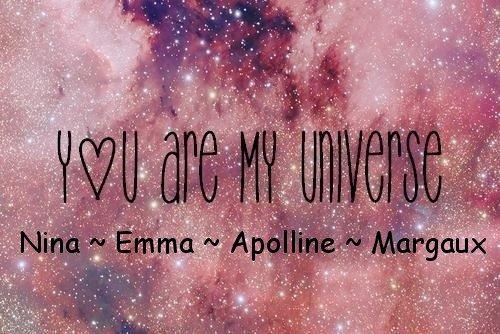 Nina ~ Emma ~ Apolline ~ Margaux