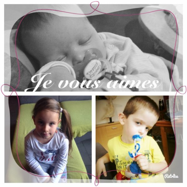 Mes 3 amours ❤