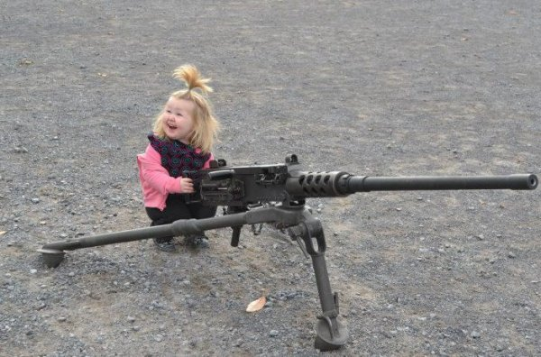 petite fille a rambo