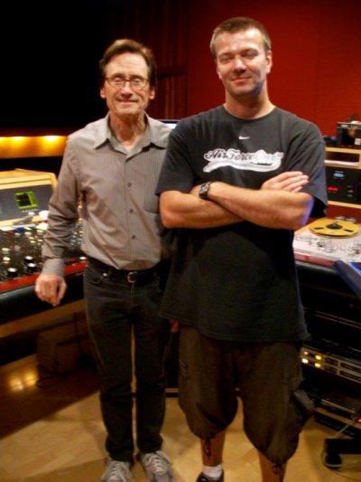 Fred Le Magicien Est Bernie Grundman --Aout 2010 A Los Angeles Mastering -- Album Fonctionnaire D'La Rue