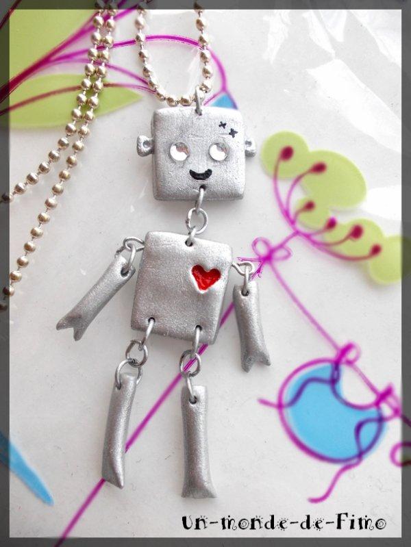 Cinq-cent-onzième objet:   Mon petit Robot!