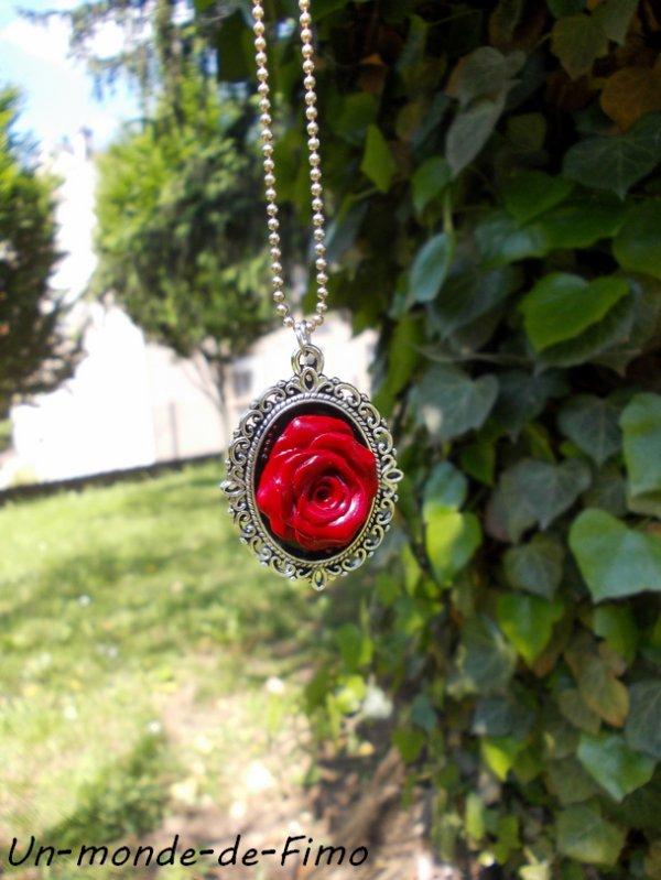Cinq-cent-vingt-huitième objet:   Rose rouge