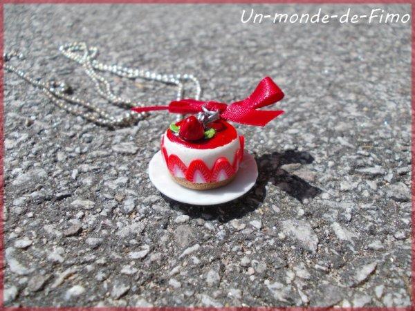 Cinq-cent-trentième objet:   Mon fraisier