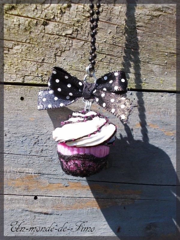 Cinq-cent-trente-cinquième objet:   Cupcake romantique♥