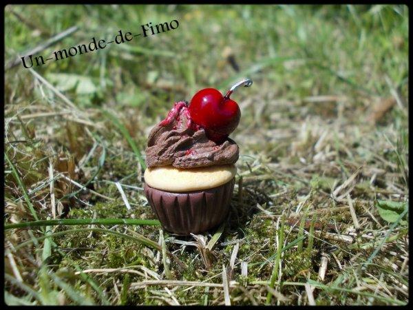 Cinq-cent-quarante-huitième objet:   Cupcake chocolat