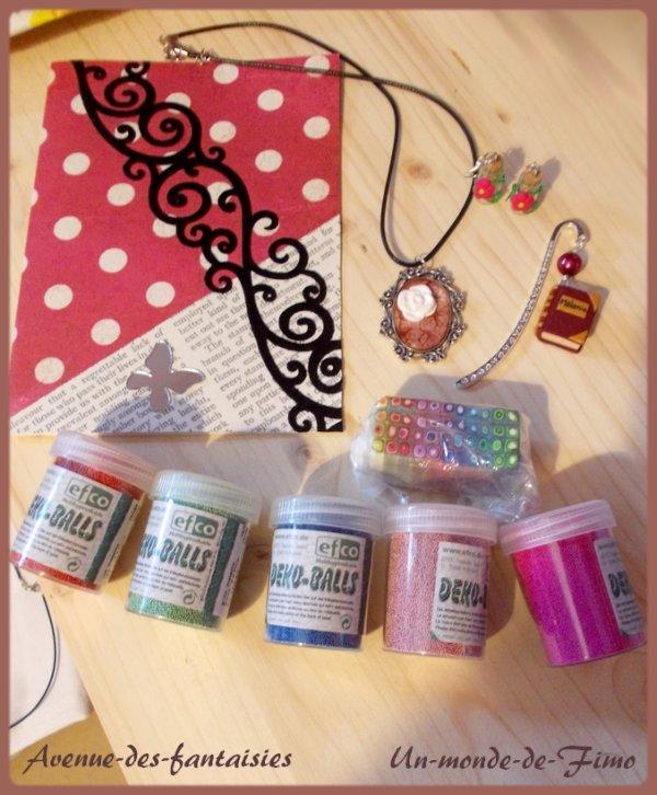 Des cadeaux dans ma boite aux lettres!! :D