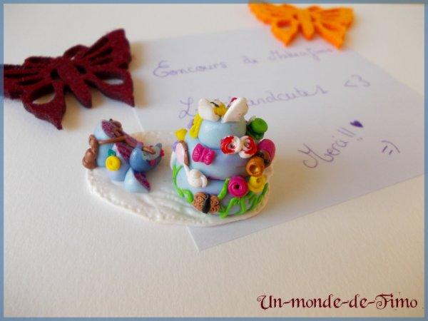 Cinq-cent-cinquante-et-unième objet:   Gâteau Alice in Wonderland!
