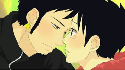 Couple. Yaoi; Luffy
