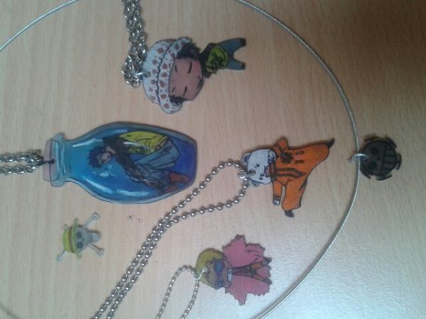 Bonus. Colliers One Piece faits maison !