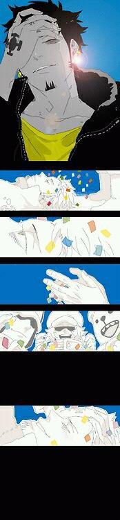 Doujinshi. Confettis.