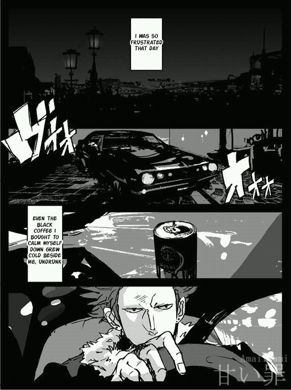 Doujinshi. Law x Kidd, Christmas and Death. Partie 1/3