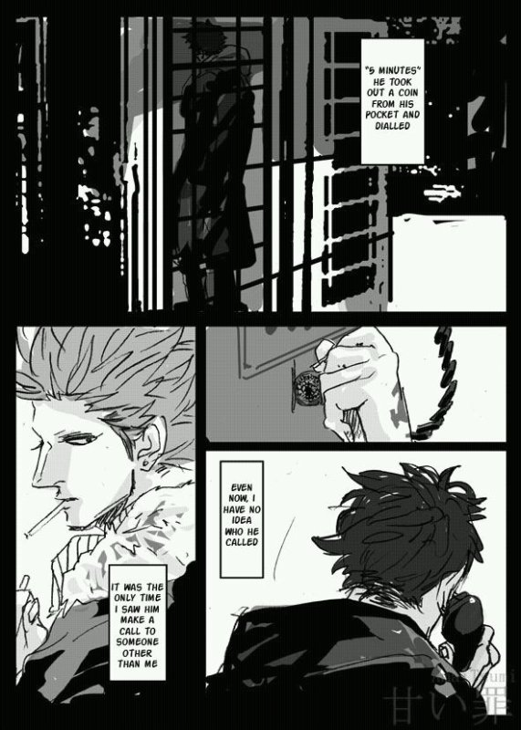 Doujinshi. Law x Kidd, Christmas and Death. Partie 2/3