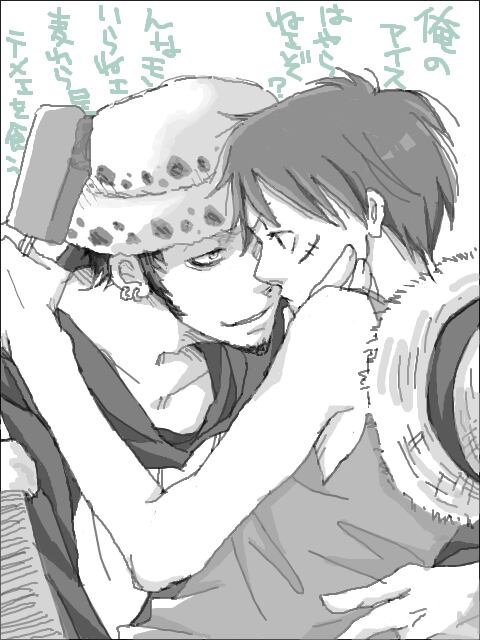 Couple. Monkey D Luffy.