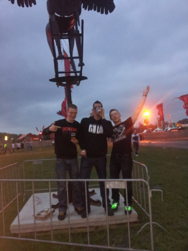 "Defqon1 festival 2013 ""Week end Warrior"""
