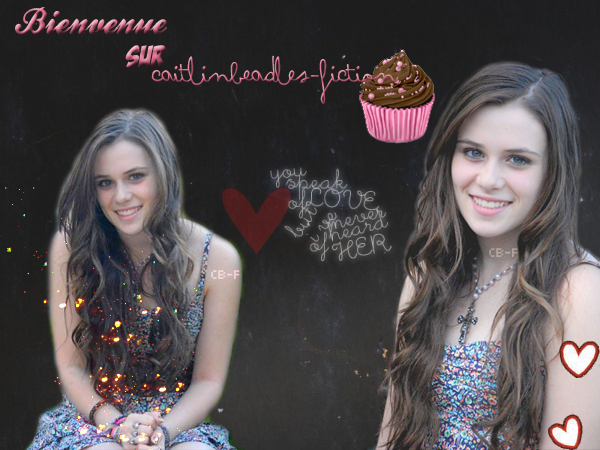 Bienvenue Sur CaitlinBeadles-Fiction ! :)