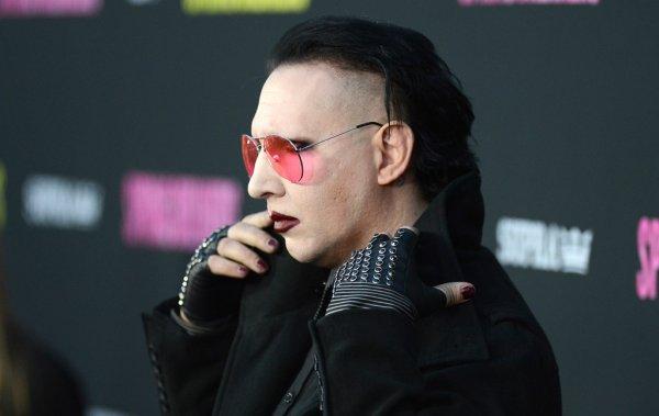 Marilyn Manson au Spring Breakers