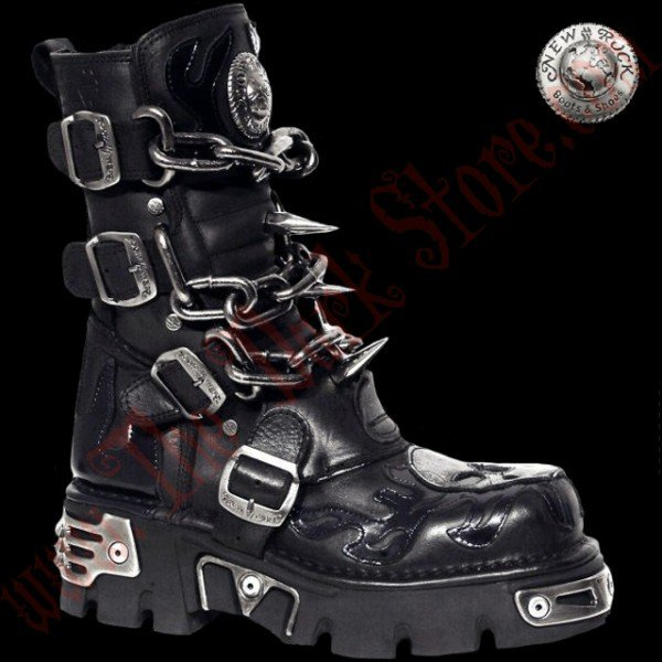 New Rock Chain Boots