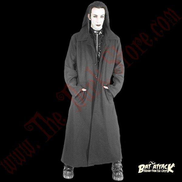 Dark Crow Wool Coat
