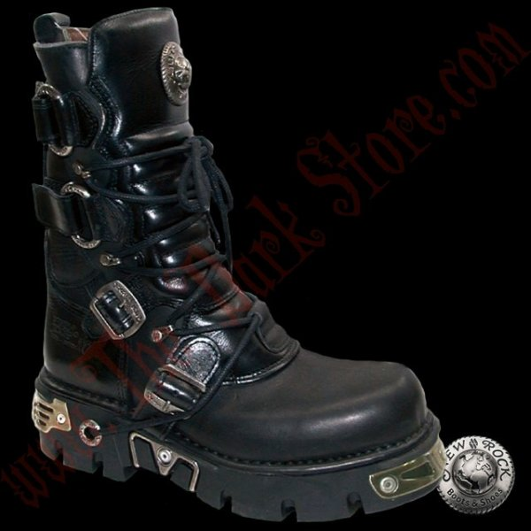 New Rock Ring Boots