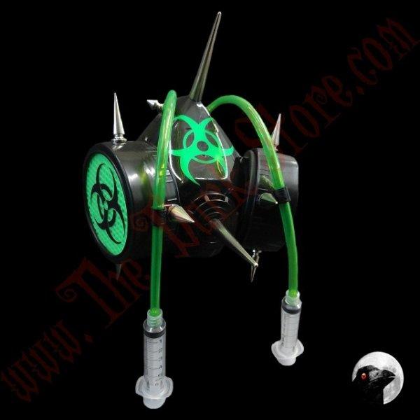 Cyber Respirator Green Emergencies