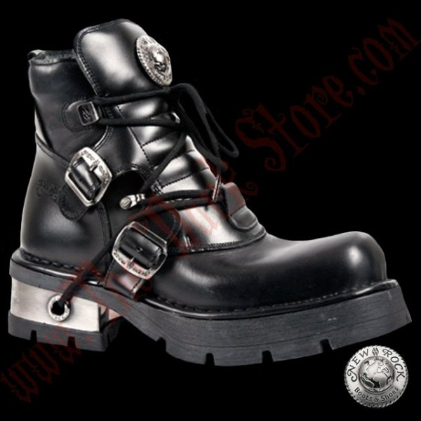 New Rock 2-Buckle Shoes (988-S1)