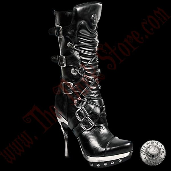 Bottines Femmes New Rock Punk (PUNK001-C1)