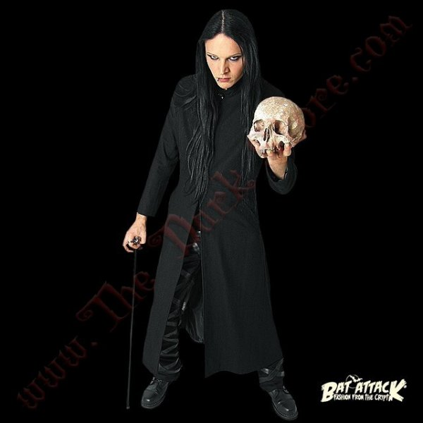 LONG MANTEAU GOTHIQUE 'IMMORTAL NEO'