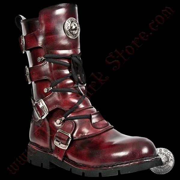 NEW ROCK COMFORT-LIGHT BORDEAUX (1473-C4)