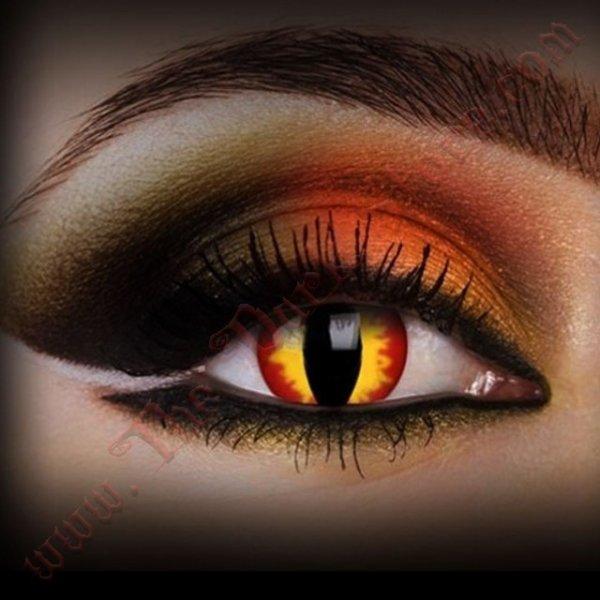 Lentilles de Contact 'Dragon Eyes'
