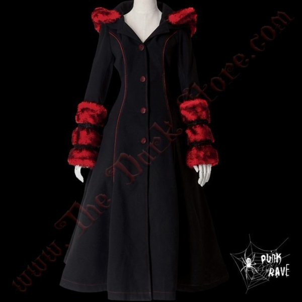 MANTEAU 'FROZEN STRAWBERRY'