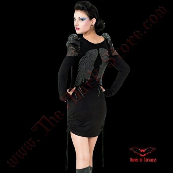 ROBE COURTE 'FALLEN ANGEL'